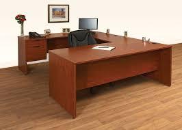 assembled office desks. Full Extension Ball Bearing Slides On All Drawers, Grommet Holes Come Standard The Desk And Returns, Assembled Office Desks E