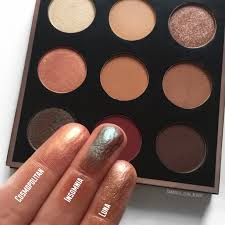 mannymua palette damaged i absolutely love makeup geek eyeshadows as they are always crazy pigmented and blend so easy