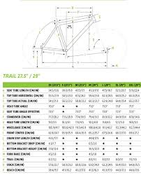 Cannondale Trail 5 Size Chart Trail 5 Cannondale Bikes Creating The Perfect Ride