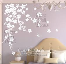 white cherry blossom wall decals flower vinyl wall decals tree nursery