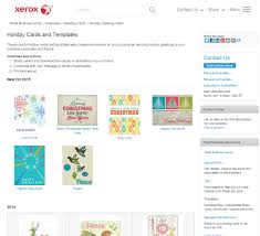 print your own holiday greeting cards able xerox christmascardtemplates