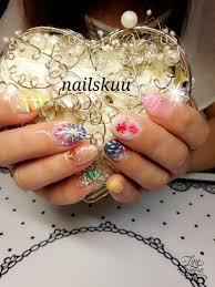 夏祭りネイル Nails Kuu Nails Kuu のネイル ネイルクルー
