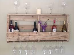 diy pallet wine rack shelf