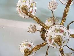 vickiesvintage com vintage antique collectibles vintage chandelier white porcelain