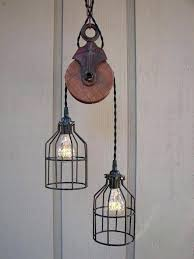 vintage pulley lights industrial pulley light industrial pulley pendant lighting ideas for traditional room vintage pulley