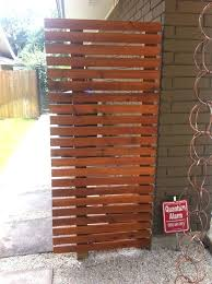 diy trash can screen how to hide your outdoor garbage cans designs diy trash can screen