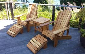 wood patio furniture. Modern Patio And Furniture Medium Size Solid Wood Adirondack Chair With Ottoman Where CanSolid