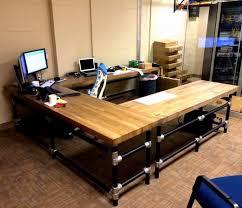 diy u shaped desk. Simple Desk And Diy U Shaped Desk H