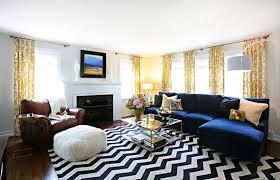 25 pretty patterned interiors brit co pertaining to chevron rug prepare 16