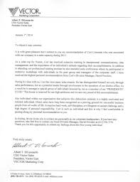 My Cutco Ceo Recommendation Letter