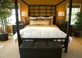 Bamboo Canopy Bed Master Bedrooms Featuring Canopy Beds And Four ...