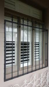 Burglar Bar Door Designs Steel Security Window Bars Installed In Toorak Window