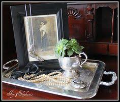 Decorating With Silver Trays ANTIQUECHASE Decorating with Vintage Silver Punch Bowls If I 70