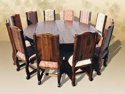 good rustic round kitchen table