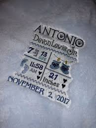 custom embroidered baby blankets with birth statistics baby kids in atlanta ga offerup