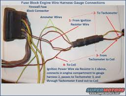 info 72 79 gauge clusters and wiring the ford torino page for those that are troubleshooting tachometer or ammeter wiring issues or those retrofitting a gauge cluster into a standard car the following rough