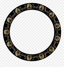 Vignette Design Free Clipart Of A Fancy Greek Vignette Design Frame Oval