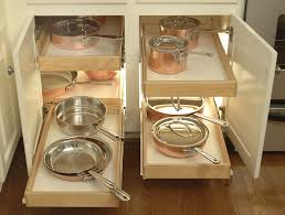 Kitchen Storage For Pots And Pans Kitchen Room Small And Narrow Corner Kitchen Cabinet With Diy