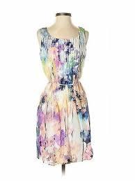 Nwt Ivy Blu Women Purple Casual Dress 6 Petite 27 99