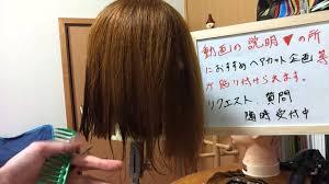 新ヘアカットの仕方 3 ヘアカタログ 人気の髪型 ミディアムボブの切り