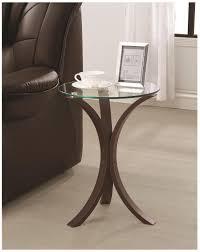 brown glass accent table brown glass accent table