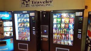 Vending Machine Repair Orange County Extraordinary Vending Machines Serving Candy Cookies Ice Cream Soda And Coffee