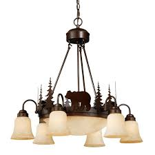 montana downlight chandelier