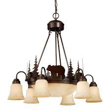montana downlight chandelier