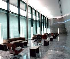 Commercial Interior Design with Lounge Chair by Charles Eames and Ray Eames