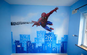 Spiderman Wall-Paint Colors