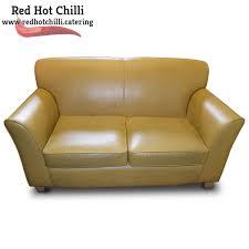 mustard yellow leather sofa ref rhc1943 warrington cheshire