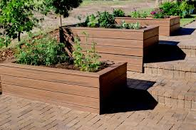 Lawn & Garden:Garden Planter Boxes Ideas With Wooden Container Garden Box  Design Ideas For