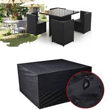 details about s m l xl waterproof furniture set cover heavy duty rattan cube outdoor garden uk