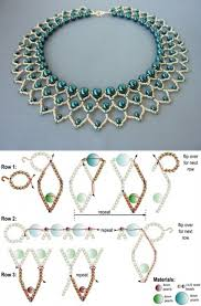 Beading Design Jewelry Com Free Beading Pattern For Pearl Petals Necklace