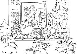 Image Christmas Coloring Pages Adults 11 For Pdf Download Free Books