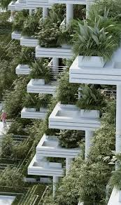 Small Picture Gallery of Penda Designs Sky Villas with Vertical Gardens for
