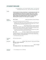 Objective For Resume For Nursing Student Objective For Resume