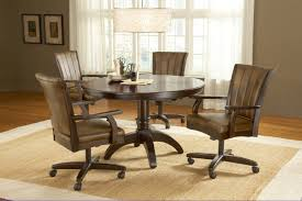 11 upholstered dining room chairs with casters amazing rolling dining chairs caster dining room chairs intended