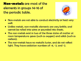 The modern periodic table - ppt download