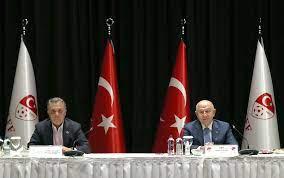 TFF ile Ahmet Nur Çebi başkanlığındaki Kulüpler Birliği ilk toplantısını  yaptı - TFF Haberleri TFF
