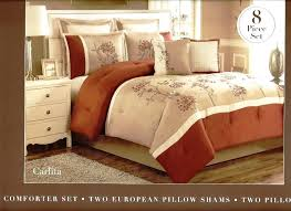 rust colored comforter sets. beautiful comforter rust coloured duvet covers 8 pc embroidered comforter set  carlita tan brown on colored sets l