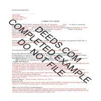 new jersey deed form ocean county correction deed form new jersey deeds com