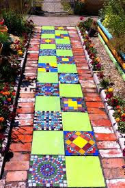 Mosaic Garden PathMosaic Garden Path