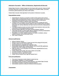 Resume Description Examples Outstanding Counseling Resume Examples to Get Approved 96