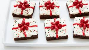 easy christmas present brownies recipe