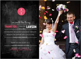 Wedding Thank You Samples Wedding Thank You Card Wording Samples Sayings Etiquette Ideas