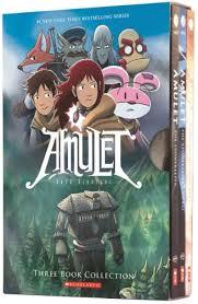 amulet boxed set books 1 3
