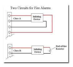 class a fire alarm wiring diagram Fire Alarm Pull Station Wiring Diagram fire alarm question electrician talk professional electrical Fire Alarm Damper Wiring