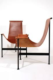 modern leather chair. Modern Designer Chairs New In Contemporary Leather Sling Chair Chaise