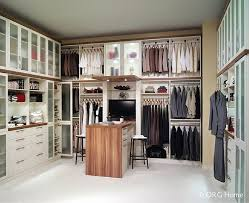 taking inventory to get the right vertical distance between walk in closet sections helped this dublin